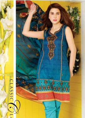 Five Star Printed Lawn Unstitched 3 Piece Suit FS20CL-1 1213C - Spring / Summer Collection