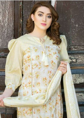 Five Star Printed Lawn Unstitched 3 Piece Suit FS19-L3 1008B - Spring / Summer Collection
