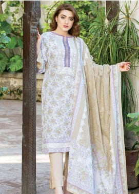 Five Star Printed Lawn Unstitched 3 Piece Suit FS19-L3 1009C - Spring / Summer Collection