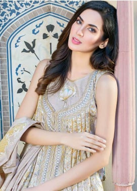Five Star Printed Lawn Unstitched 3 Piece Suit FS19-L3 1012C - Spring / Summer Collection