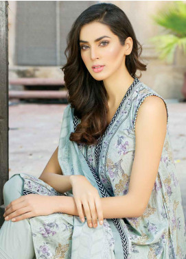 Five Star Printed Lawn Unstitched 3 Piece Suit FS19-L3 1016C - Spring / Summer Collection