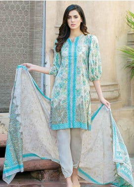 Five Star Printed Lawn Unstitched 3 Piece Suit FS19-L3 1017A - Spring / Summer Collection