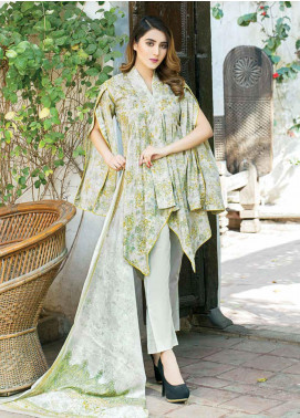 Five Star Printed Lawn Unstitched 3 Piece Suit FS19-L3 1017B - Spring / Summer Collection