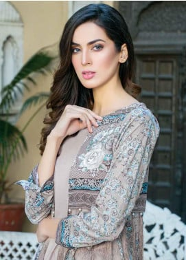 Five Star Printed Lawn Unstitched 3 Piece Suit FS19-L3 1019A - Spring / Summer Collection
