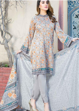 Five Star Printed Lawn Unstitched 3 Piece Suit FS19-L3 1019B - Spring / Summer Collection