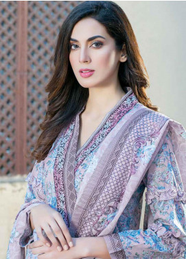 Five Star Printed Lawn Unstitched 3 Piece Suit FS19-L3 1019C - Spring / Summer Collection