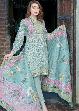 Five Star Printed Lawn Unstitched 3 Piece Suit FS19-L3 1020A - Spring / Summer Collection