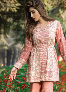 Floral Vintage Embroidered Swiss Voile Unstitched 3 Piece Suit FL18S 06 - Summer Collection