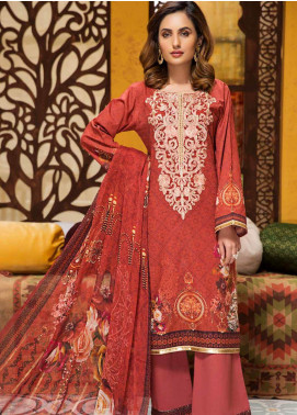 Florence by Mohagni Embroidered Lawn Unstitched 3 Piece Suit MO20F SLE 02 - Spring / Summer Collection