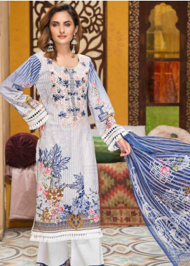 Florence by Mohagni Embroidered Lawn Unstitched 3 Piece Suit MO20F SLE 04 - Spring / Summer Collection