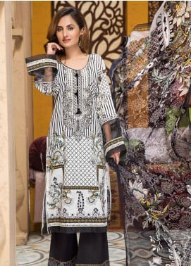 Florence by Mohagni Embroidered Lawn Unstitched 3 Piece Suit MO20F SLE 05 - Spring / Summer Collection
