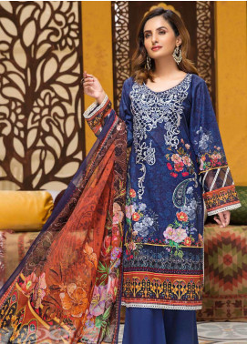 Florence by Mohagni Embroidered Lawn Unstitched 3 Piece Suit MO20F SLE 09 - Spring / Summer Collection