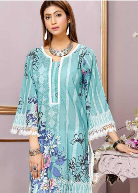 Florence by Mohagni Printed Lawn Unstitched Kurties FMO19-T2 02 - Mid Summer Collection
