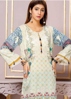 Florence by Mohagni Printed Lawn Unstitched Kurties FMO19-T2 03 - Mid Summer Collection