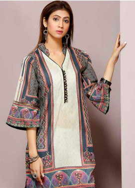 Florence by Mohagni Printed Lawn Unstitched Kurties FMO19-T2 04 - Mid Summer Collection