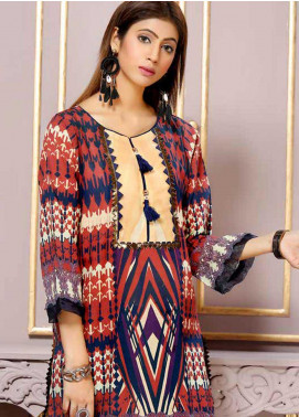 Florence by Mohagni Printed Lawn Unstitched Kurties FMO19-T2 06 - Mid Summer Collection