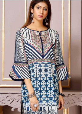 Florence by Mohagni Printed Lawn Unstitched Kurties FMO19-T2 10 - Mid Summer Collection