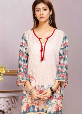 Florence by Mohagni Printed Lawn Unstitched Kurties FMO19-T2 13 - Mid Summer Collection