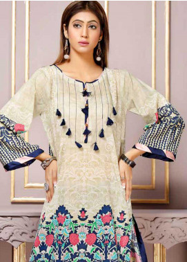 Florence by Mohagni Printed Lawn Unstitched Kurties FMO19-T2 15 - Mid Summer Collection