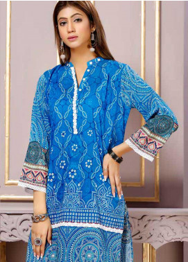 Florence by Mohagni Printed Lawn Unstitched Kurties FMO19-T2 16 - Mid Summer Collection