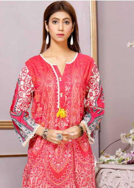 Florence by Mohagni Printed Lawn Unstitched Kurties FMO19-T2 17 - Mid Summer Collection