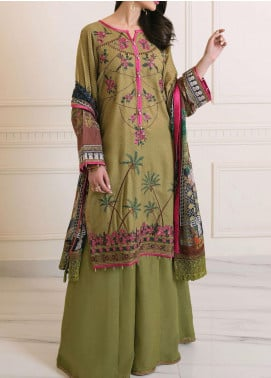 Florence by Rang Rasiya Embroidered Karandi Unstitched 3 Piece Suit RR20W D-614 - Winter Collection