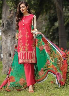 Florence by Rang Rasiya Embroidered Lawn Unstitched 3 Piece Suit RR20FL-507 - Spring / Summer Collection