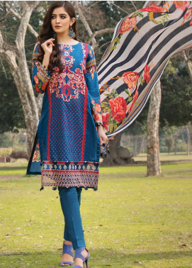 Florence by Rang Rasiya Embroidered Lawn Unstitched 3 Piece Suit RR20FL-513 - Spring / Summer Collection