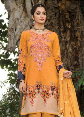 Florence by Rang Rasiya Embroidered Lawn Unstitched 3 Piece Suit RR20FL-516 - Spring / Summer Collection