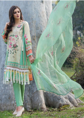 Florence by Rang Rasiya Embroidered Lawn Unstitched 3 Piece Suit RR20FL-518 - Spring / Summer Collection