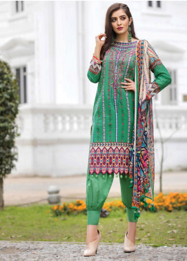 Florence by Rang Rasiya Embroidered Lawn Unstitched 3 Piece Suit RR20FL-524 - Spring / Summer Collection
