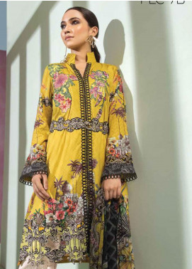 Florent Embroidered Lawn Unstitched 3 Piece Suit F20LC 7B - Luxury Collection