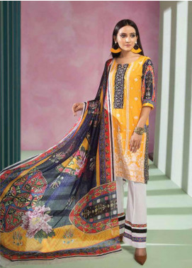 Florent Embroidered Lawn Unstitched 3 Piece Suit F20LC S1 - Luxury Collection