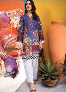 Florent Printed Lawn Unstitched 2 Piece Suit F20SV 02 - Summer Collection
