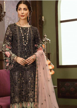 Flossie Embroidered Chiffon Unstitched 3 Piece Suit FL19-C5 06 KEVSER - Luxury Collection