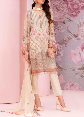 Kuch Khas by Flossie Embroidered Chiffon Unstitched 3 Piece Suit FL20-KK6 709 Afsoon - Luxury Collection