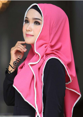 Flow Idea Hijab  Bubble Pop  Ladies Scarves HH Flow Ambara 04 Pink Fresh
