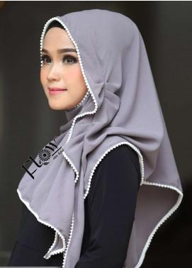 Flow Idea Hijab  Bubble Pop  Ladies Scarves HH Flow Ambara 09 Grey