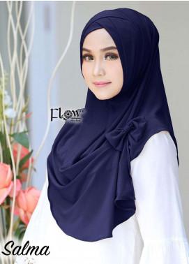 Flow Idea Hijab  Jersey  Ladies Scarves HH Flow Cross 02 Navy Blue