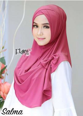Flow Idea Hijab  Jersey  Ladies Scarves HH Flow Cross 06 Pink Fresh