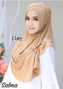 Flow Idea Hijab  Jersey  Ladies Scarves HH Flow Cross 07 Golden