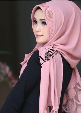 Flow Idea Hijab  Bubble Pop  Ladies Scarves HH Flow Maruya 01 Pink