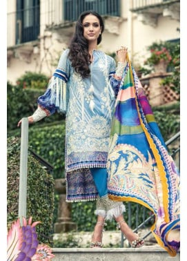 Faraz Manan Embroidered Lawn Unstitched 3 Piece Suit FM17L 03