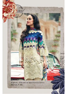 Faraz Manan Embroidered Lawn Unstitched 3 Piece Suit FM17L 06