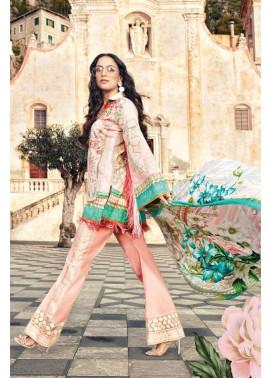 Faraz Manan Embroidered Lawn Unstitched 3 Piece Suit FM17L 08