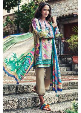 Faraz Manan Embroidered Lawn Unstitched 3 Piece Suit FM17L 10