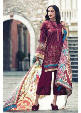 Faraz Manan Embroidered Lawn Unstitched 3 Piece Suit FM17L 11