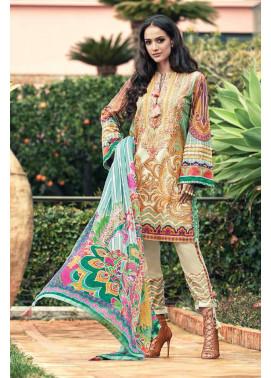 Faraz Manan Embroidered Lawn Unstitched 3 Piece Suit FM17L 20