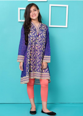Ochre Lawn Embellished Formal Girls Kurtis -  OPL 42 Mix