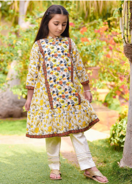 Ochre Lawn Formal 2 Piece Suit for Girls -  OPL 59 Mix